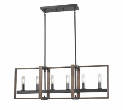 Pendant Lighting Transitional BLAIRMORE Dvi DVP30202GR-IW-CL