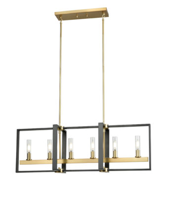 Pendant Lighting Transitional BLAIRMORE Dvi DVP30202VBR-GR-CL