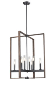 Pendant Lighting Transitional BLAIRMORE Dvi DVP30249GR-IW-CL