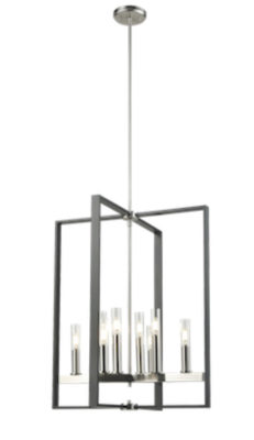 Pendant Lighting Transitional BLAIRMORE Dvi DVP30249SN-GR-CL