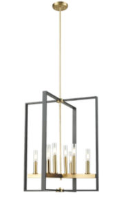 Pendant Lighting Transitional BLAIRMORE Dvi DVP30249VBR-GR-CL