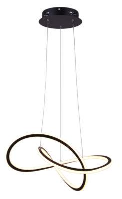 Pendant Lighting Modern ZOLA Canarm LCW155A21BK