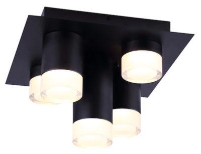 Flush mount Lighting Modern TORA Canarm LFM156A11BK