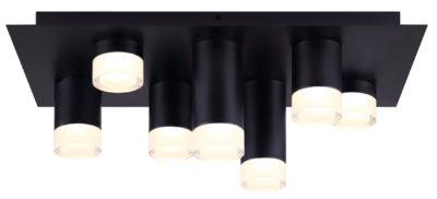 Flush mount Lighting Modern TORA Canarm LFM156A22BK
