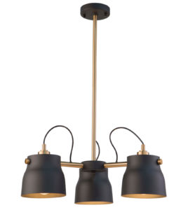Luminaire suspendu  inustriel EURO INDUSTRIAL Artcraft AC11363VB