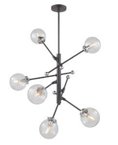 Luminaire suspendu moderne VERO MODO Artcraft AC11436CL