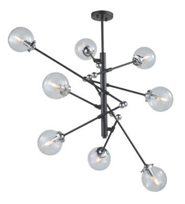 Luminaire suspendu moderne VERO MODO Artcraft AC11438CL