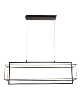 Luminaire suspendu DEL moderne iL IL015-4036-BKSN