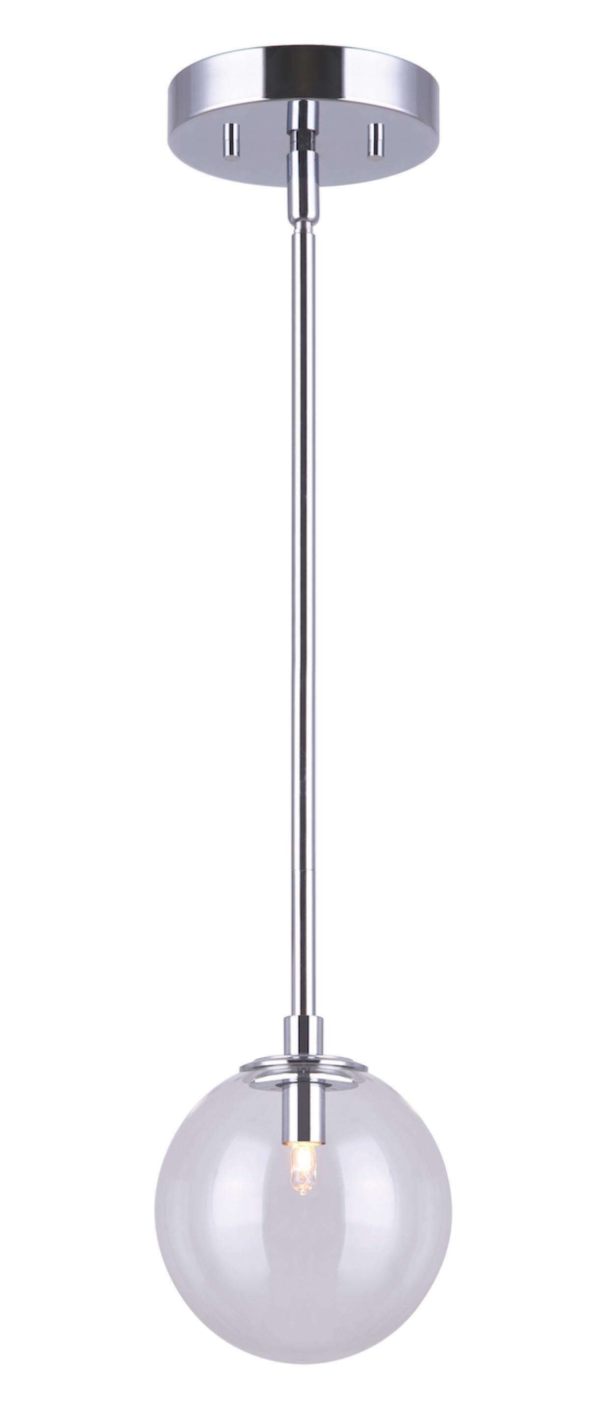 Luminaire suspendu moderne ATLAS Canarm  IPL741A01CH9