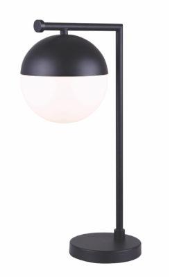 Luminaire de table moderne LEEDS Canarm ITL746A20BK