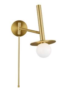 Wall Sconce Lighting swivel Modern NODES Feiss KW1021BBS