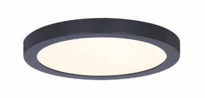 Luminaire plafonnier rond moderne Canarm LED-SM11DL-BK-C