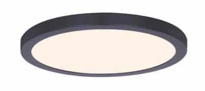 Luminaire plafonnier rond moderne Canarm LED-SM15DL-BK-C