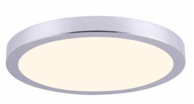 Luminaire plafonnier rond moderne Canarm LED-SM15DL-CH-C