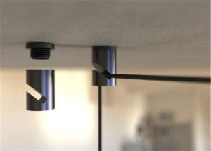 Crochet pour luminaire suspendu FIREBOLT Eurohome HOOK-BL