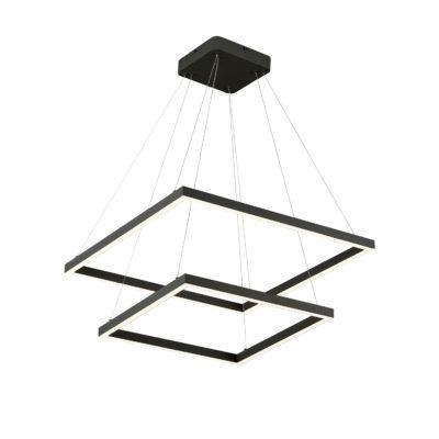 Luminaire suspendu moderne PIAZZA Kuzco CH85224-BK