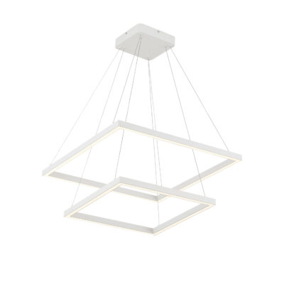 Luminaire suspendu moderne PIAZZA Kuzco CH85224-WH