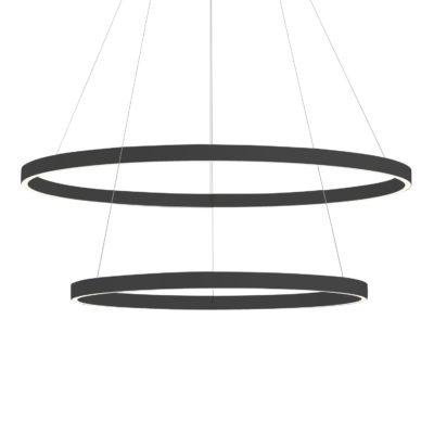 Luminaire suspendu moderne CERCHIO Kuzco CH86232-BK
