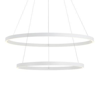 Luminaire suspendu moderne CERCHIO Kuzco CH86232-WH