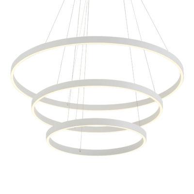 Luminaire suspendu moderne CERCHIO Kuzco CH86332-WH