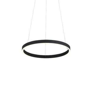 Luminaire suspendu moderne CERCHIO Kuzco PD86118-BK