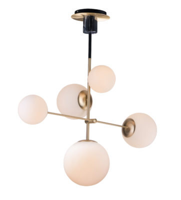 Lampe de table MODERNE VESPER MAXIM ET2 26038SWSBRBK
