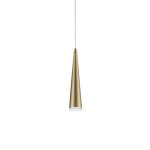 Luminaire suspendu moderne MINA Kuzco 401215-BK-LED