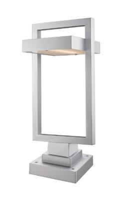 Luminaire extérieur moderne LUTTREL Z-Lite 566PHBS-SQPM-SL-LED