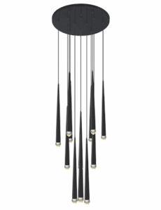 Luminaire suspendu moderne RENAIE Matteo C62712MB