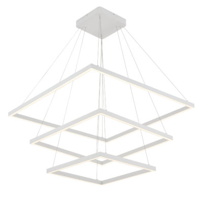 Luminaire suspendu moderne PIAZZA Kuzco CH85232-WH