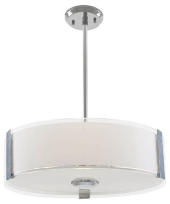 Luminaire suspendu contemporain ZURICH Dvi DVP14508CH-SS-OP