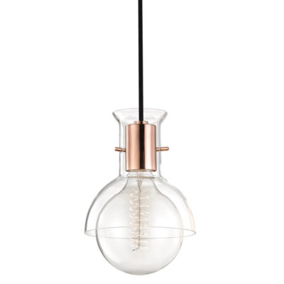 Luminaire suspendu moderne RILEY Hudson Valley H111701G-POC