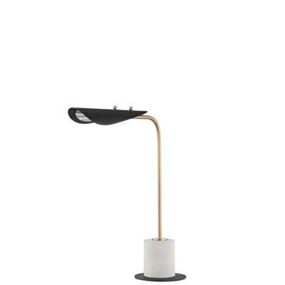 Lampe de table moderne LAYLA Hudson Valley HL157201-AGB/BK