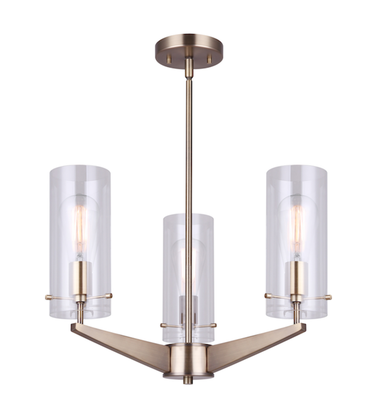Luminaire suspendu moderne JONI Canarm ICH759A03GD