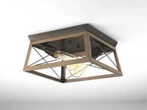 Luminaire plafonnier rustique traditionnel BRIARWOOD Progress P350039-020