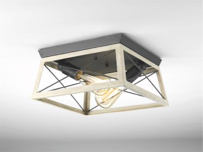 Luminaire plafonnier rustique traditionnel BRIARWOOD Progress P350039-143