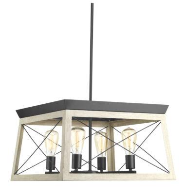 Luminaire suspendu rustique traditionnel BRIARWOOD Progress P400047-143