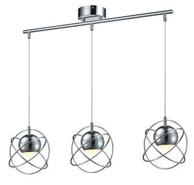 Luminaire suspendu moderne Ulextra P573-3-CM