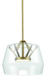 Luminaire suspendu moderne DECO Kuzco PD61418-CL-VB