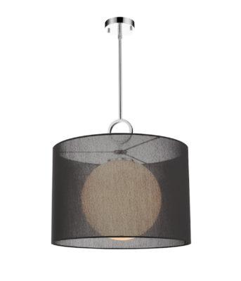 Luminaire suspendu contemporain AROSIA Z-Lite 194-20BK-C
