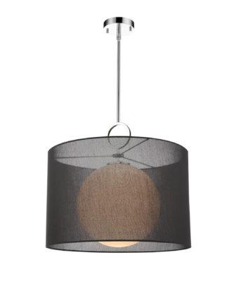 Luminaire suspendu contemporain AROSIA Z-Lite 194-24BK-C