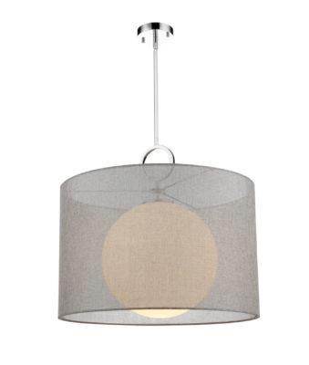 Luminaire suspendu contemporain AROSIA Z-Lite 194-24G-C