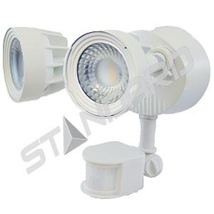 Éclairage de sécurité moderne DEL avec détecteur de mouvement Standard 64601
