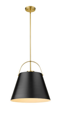 Luminaire suspendu moderne Z-STUDIO Z-Lite 726P18-MB-HBR