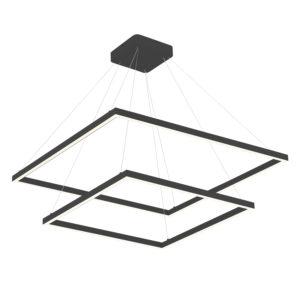 Luminaire suspendu moderne PIAZZA Kuzco CH85232-BK