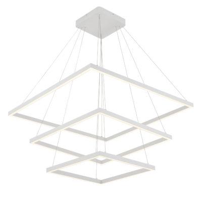 Luminaire suspendu moderne PIAZZA Kuzco CH85332-WH