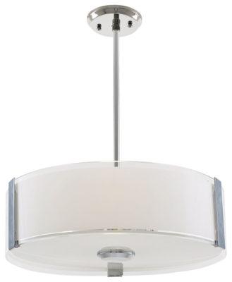 Luminaire suspendu contemporain ZURICH Dvi DVP14506CH-SS-OP