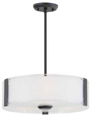 Luminaire suspendu contemporain ZURICH Dvi DVP14506GR-SS-OP