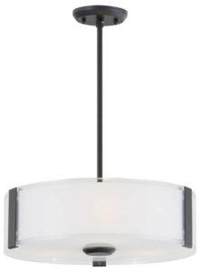 Luminaire suspendu contemporain ZURICH Dvi DVP14508GR-SS-OP
