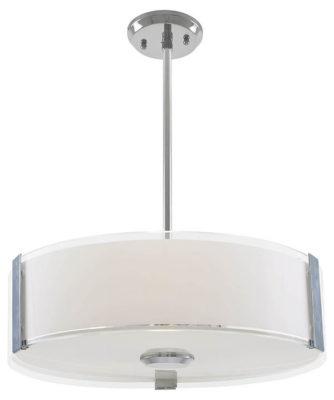 Luminaire suspendu contemporain ZURICH Dvi DVP14508SN-SS-OP